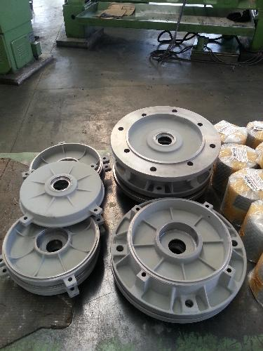 Electric Engine Flange and Cover